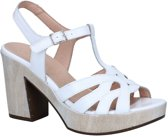 Wonders Witte Sandalen Dames 35