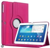 Samsung Galaxy Tab 4 10.1 T530 Tablet Case met 360° draaistand cover hoes kleur Pink / Roze