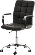 Clp Deli V2 - Bureaustoel - Kunstleer - Zwart