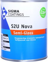 Sigma S2U Nova Semi-Gloss RAL9010 Gebroken wit 1 Liter