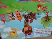 Kleurblok postkaarten voor kinderen - Bever