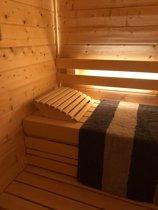 Hoofdsteun sauna deluxe