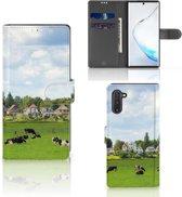Samsung Galaxy Note 10 Telefoonhoesje met Pasjes Koeien