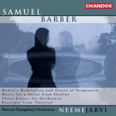 Barber: Three Essays for Orchestra etc / Neeme Jarvi, Detroit SO