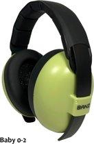 Baby Banz gehoorbeschermers Baby -light green