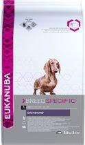 Eukanuba Dachshund/Teckel - Breed Specific - Kip - Hondenvoer - 2.5 kg