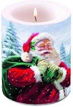 Kerstman kaars