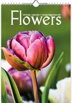 Flowers A4 verjaardagskalender