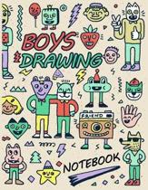 Boys Drawing Notebook