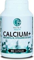 CALCIUM+ Magnesium, Vitamine D3 & K2 - 90 Capsules