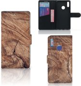 Huawei Y7 Pro | Y7 Prime (2019) Book Style Case Tree Trunk