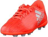 adidas X 16.4 FxG Voetbalschoenen Junior Voetbalschoenen - Maat 36 2/3 - Unisex - rood/zilver
