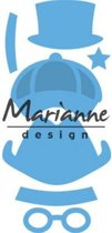 Marianne Design Creatable Mal Kims BudMal boy set LR0475 8.0x16.0 centimeter