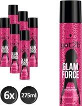 Schwarzkopf got2b GlamForce Haarspray 275 ml - 6 stuks - Voordeelverpakking