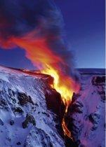 Heye Vulkaanuitbarsting Puzzel