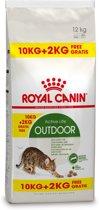 Royal Canin Outdoor - Kattenvoer - 10 kg + 2 kg