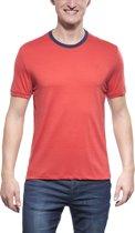 Icebreaker Tech Lite - heren - T-shirt -  Maat XL - Rood