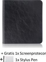 PU Leren Kobo Forma Sleepcover - Slimfit Case Book Cover Beschermhoes Sleeve Hoes - Zwart