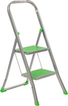 Trapladder Color Step groen 2 treden