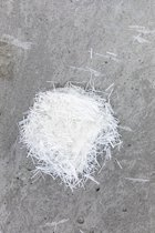 AR glasvezel voor gfrc 2,5 kg | betonwapening t.b.v. o.a. betonnen aanrechtbladen, tafels en wastafels