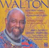 Walton: Suite from Henry V; Cello Concerto; Violin & Piano Sonata; Rands: Tre Canzoni Senza Parole