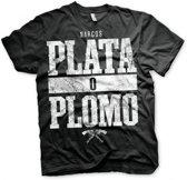 Narcos Plata O Plomo t-shirt heren XL