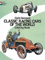 Classic Racing Cars of the World Coloring Book