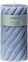 Riverdale Swirl - Geurkaars - Grijs - 7.5x15cm