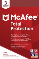 McAfee Total Protection - Multi-Device - 3 Apparaten - 1 Jaar - Nederlands - Windows / Mac Download
