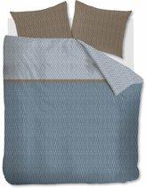 Beddinghouse Leith - Dekbedovertrek - Lits-jumeaux - 240x200/220 cm + 2 kussenslopen 60x70 cm - Blue