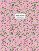 Blank Journal - Pink and Green