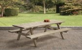 Van Talen - Picknicktafel 10 personen - Vuren - 160 x 230 cm