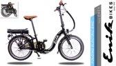 Enik-Bikes Easy Zwart Electrische vouwfiets