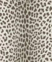 Dutch Wallcoverings vliesbehang luipaard - grijs