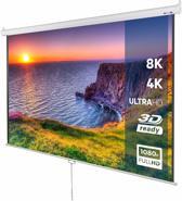 Projectie scherm - beamer - 178x178 cm - 3D HD 4K compitabel