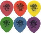 Dunlop plectrum Tortex teardrop pick SET 0.50mm-1.14mm 6-pack