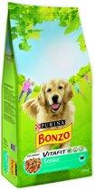 Bonzo VitaFit Senior  - Kip & Groenten - Hondenvoer - 15 kg