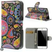 Meteor Print Wallet case hoesje iPhone 6 Plus