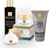 Dode zee producten - Gezichtsverzorging - Gecombineerde huid - Set van 4