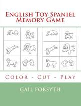 English Toy Spaniel Memory Game