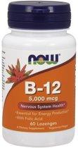 Vitamine B-12 5000mcg 60lozenges