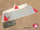 Ventoz Topaz UNO - Grootzeil (5.6 m2) - Red Patches