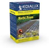 Edialux Herbi press 500ml: tegen onkruid op oprit, paden en terrassen