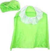 pieten kleding muts en cape groen