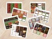 Planner Stickers algemeen KERST 2020 voor Mascha Planner