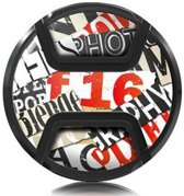 Kaiser Lens cap snap-on style snippets 72mm
