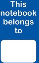 This Notebook Belongs to (Blue)