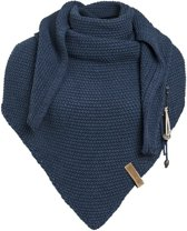 Knit Factory - Knit Factory Coco Omslagdoek/Sjaal Jeans Maat: one size
