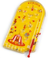 Scratch Classics: PINBALL GAME / CIRCUS 20.3x11x0.15cm, in metaal, in vensterdoo