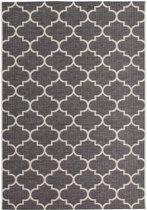 CleanWalk binnen/buiten karpet Tiles grijs 120 x 170 cm